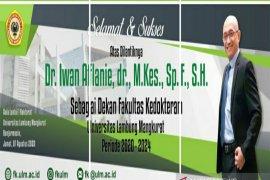 Iwan Aflanie, alumni pertama FK ULM yang dipercaya jadi Dekan