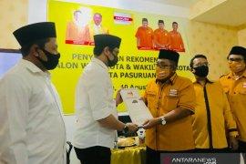 Pilkada Kota Pasuruan, Hanura serahkan rekomendasi kepada pasangan Teno-Hasjim