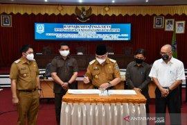 Disetujui Banggar DPRD, MoU Rancangan KUA dan PPAS HSS 2020 ditandatangani