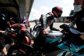 Fabio Quartararo 'tersiksa' balapan di Brno