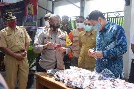 Wali Kota - Forkopimda Kota Kediri gencar sosialisasikan penggunaan masker