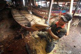 Desa Pembuat Jukung Di Kalimantan Selatan