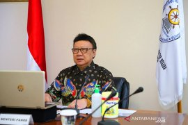 Tjahjo Kumolo: 75 persen ASN di zona merah kerja dari rumah