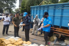 BNN gagalkan penyelundupan 450 kg ganja di Bekasi