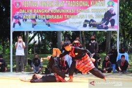 Pelestarian kearifan lokal bela diri tradisional kuntau di Barabai