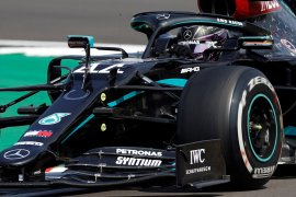 Lewis Hamilton: Ban seperti balon, takut pecah lagi di Silverstone