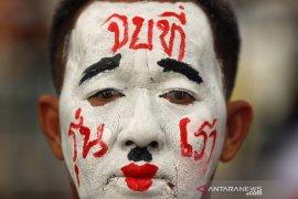 Warga di Bangkok kembali berunjuk rasa anti pemerintah