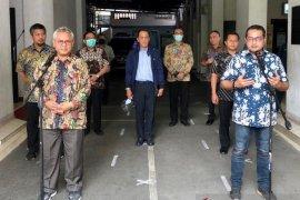 Temui Ketua KPU, Demokrat izin tempatkan petugas di Kantor KPU RI
