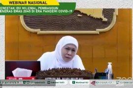 Gubernur Khofifah: Jangan sertakan susu kental manis untuk bayi di produk bansos