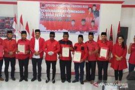 PDI-P Riau umumkan enam paslon, ada penyanyi Iyet Bustami untuk Pilkada Bengkalis