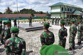 Latihan Alarm Setelling Siapkan Prajurit 611/Awang Long Berangkat Satgas Pamtas Papua
