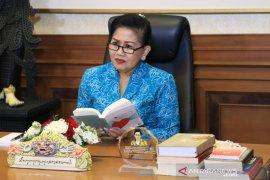 """Gairahkan budaya literasi, PKK Bali luncurkan antologi puisi """"Kata Hatinya"""""""