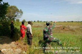 Bhabinkamtibmas patroli terpadu ke daerah rawan Karhutla