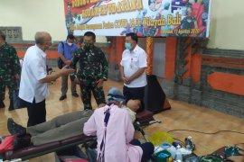 28 Anggota Kodam Udayana donorkan plasma konvalesen