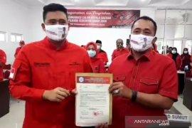 Diusung PDIP, Menantu Presiden Bobby Nasution ucapkan terima kasih kepada Megawati