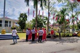 Pemkab Belitung batasi peserta upacara HUT RI ke-75
