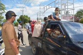 Antisipasi COVID-19, Aceh Timur bagi ribuan masker gratis