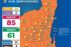 Pasien sembuh dari COVID-19 di Banyuwangi capai 61 orang