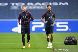 Mbappe masuk skuat PSG kontra Atalanta