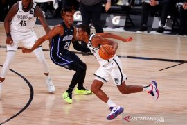 Broklyn Nets kantungi kemenangan kelima sejak restart NBA