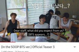 """BTS hadirkan kedamaian hingga kekacauan di """"In the SOOP BTS Ver"""""""