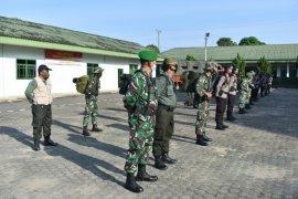 Danrem 042/Gapu kembali terjunkan tim patroli gabungan satgas karhutla ke perbatasan Sumsel