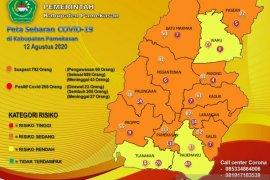 Tiga kecamatan di Pamekasan masuk zona kuning COVID-19
