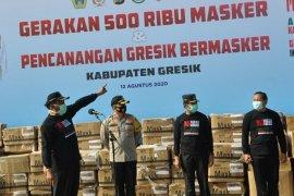 Pemkab Gresik bagikan 500 ribu masker kepada masyarakat