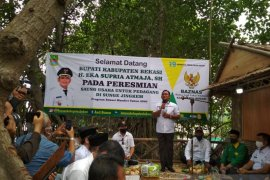 Bupati Bekasi resmikan saung UMKM ekowisata Sungai Jingkem
