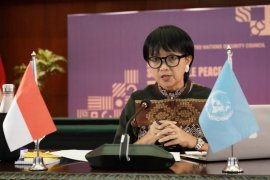 Pimpin Sidang DK PBB, Indonesia perkuat diplomasi damai dalam tantangan pandemi
