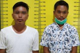 Petugas gabungan tangkap dua tersangka penyalahgunaan narkotika