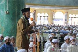 Wabup HST bersama ribuan warga hadiri haul ke-26 pendiri Ponpes Ibnul Amin Pemangkih