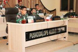 Pangdam XII/TPR ingatkan semua pihak tingkatkan kewaspadaan terhadap COVID-19