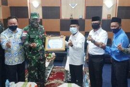 Penghargaan BKKBN Untuk Kodim Sambas