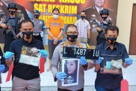 Polisi Sidoarjo tangkap pelaku pembunuhan perempuan di Sedati