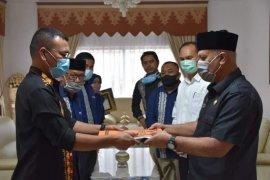 Bupati terima usulan anggaran KIP Aceh Tengah untuk Pilkada 2022