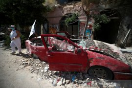 8.000 bangunan hancur akibat ledakan dahsyat Beirut Lebanon