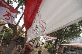 Warga Depok diminta hentikan aktivitas selama tiga menit pada 17 Agustus pukul 10.17