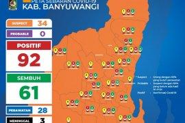 Bertambah tujuh kasus, warga Banyuwangi terpapar COVID-19 menjadi 92 orang