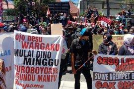 Pekerja seni dan hiburan di Surabaya kembali demo minta Perwali 33/2020 dicabut