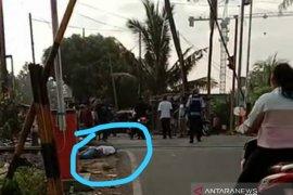 Bunuh diri, pria di Serang tewas terlindas kereta api disaksikan warga