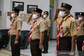 Wabup HSS ikuti upacara Hari Pramuka secara virtual