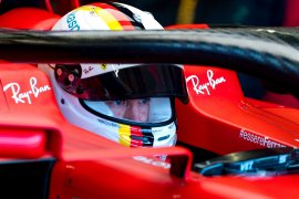 Sebastian  Vettel gunakan sasis baru di Catalunya