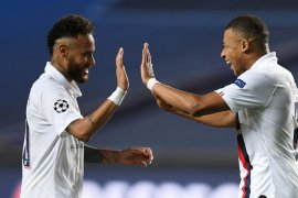 Bos PSG:  Neymar dan Mbappe musim depan tetap di Paris