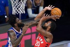 Lanjutan NBA, Toronto Raptors tundukkan Philadelphia 76ers 125-121