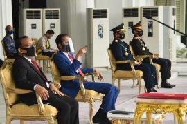 Presiden Jokowi bacakan Naskah Apel Kehormatan dan Renungan Suci di TMP