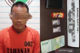 Buruh harian lepas di Desa Pagat ditangkap Polres HST beserta lima paket sabu