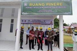 Bupati Aceh Jaya resmikan ruang rawat pasien corona di RSUD Teuku Umar Calang