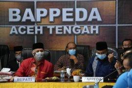 Pemkab Aceh Tengah bahas pemetaan masalah bidang pertanian