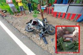 Tabrakan motor vs mobil pick up, pemuda Bengkulu tewas di tempat